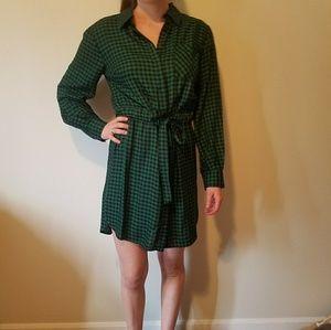 Pretty Plaid Dress